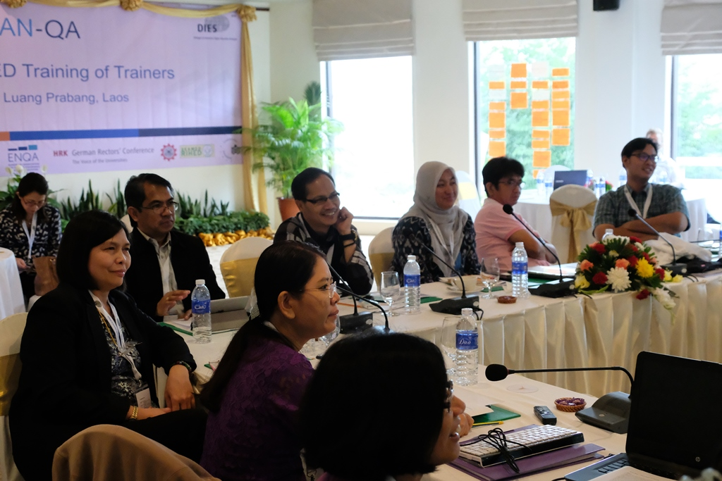 ASEAN-QA Training of Trainers in Luang Prabang, Laos